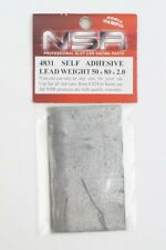 4831 NSR 1:32 BEST SELF ADHESIVE LEAD WEIGHT 50x80x2 mm Slot car