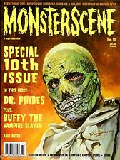 MONSTERSCENE #10 DR PHIBES Vincent Price INGRID PITT Buffy Vampire Slayer MINT!