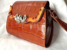Glen Miller For Ann Turk Collectible Designer of the Stars Leather & Tortoise