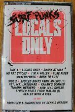 Surf Punks - Locals Only - 1991 NEW Cassette DayGlo!!! Dennis Dragon Auction