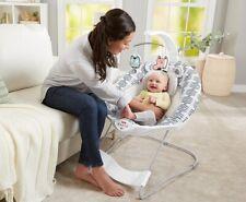 Baby Bouncer Seat Recliner Infant Bassinet Vibrating Chair Rocker Rocking Gear