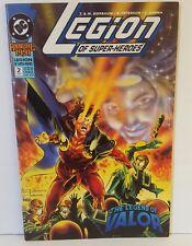 LEGION OF SUPERHEROES ANNUAL #2 1991 VF.NM