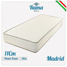 MATERASSO SINGOLO MADRID 80X185 ALTO 11 CM IN WATERFOAM ANTIACARO ANALLERGICO