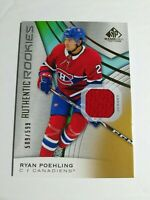 2019-20 SP Game Used - Authentic Rookies Jersey - Ryan Poehling 509/599 #137