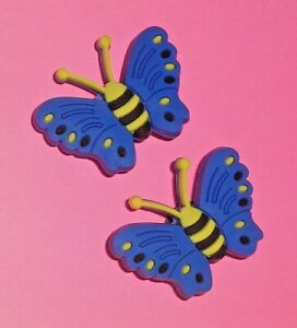 Butterfly  Shoe Charms Shoe Buttons Plugs Accessories Shoe Clog Decorations