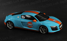 KYOSHO Diecast Audi R8 Gulf 1/18