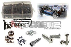 RCScrewZ Xray T3 US/Euro Spec Stainless Steel Screw Kit - xra032