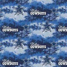Dallas Cowboys Cotton Liquid Blue