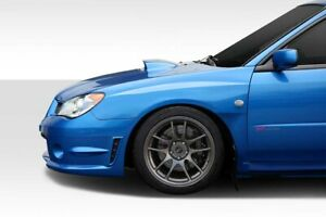 06-07 Fits Subaru Impreza WRC Look Duraflex Body Kit- Wide Front Fenders! 114818
