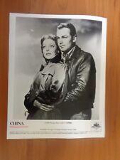 Vintage Glossy Press Photo Movie China Loretta Young Alan Ladd