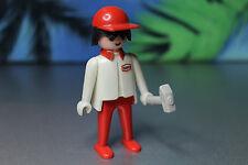 Playmobil Figur Klicky Mechaniker für 3520 Rennwagen (1984) Texaco Motorsport 15