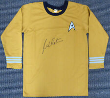 WILLIAM SHATNER AUTHENTIC AUTOGRAPHED SIGNED STAR TREK UNIFORM SHIRT JSA 159209