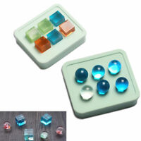 Ball Cube Silicone Pendant Mold Making Supplies For Resin Necklace Craft Mould