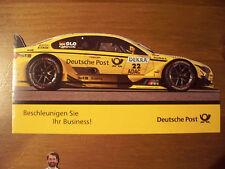 Portocard individuell DTM / BMW M4 DTM / Timo Glock / 1 Heft