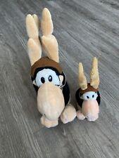 "1985 Opus Antlers The Washington Post R. Dakin Plush Penguin LOT 2 Plush 10"" 14"""