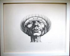 RUDOLF HAUSNER  Adam wohlbehütet< HANDSIGNIERT, WVZ Huber 7, 50x60,Rahmen