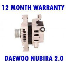 DAEWOO NUBIRA 2.0 16V 1997 1998 1999 2000 2001 - 2015 ALTERNATOR