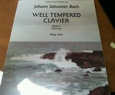 Bach Well-Tempered Clavier / Book 2 (Kalmus Edition) Songbook Piano Solo