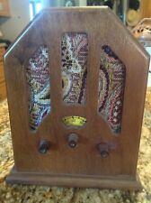 "Vintage Radio Perfect Doll Accessory 7"" Tall"