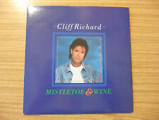 "Cliff Richard - Mistletoe & Wine - 7"" single"