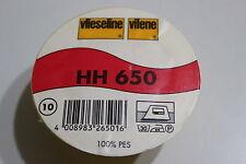 Vlieseline HH 650 - beidseitig haftend, 150 cm, weiß