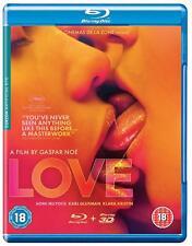 LOVE 3D [2015] (Blu-ray 3D + 2D)~~~~Gaspar Noé~~~~NEW + SEALED