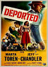 Deported (Crime '50) Jeff Chandler, Marta Toren, Claude Dauphin, Richard Rober.