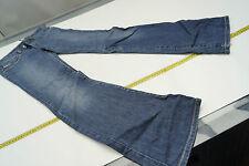 DIESEL Damen Jeans Hose Schlag Hüft stretch Gr.26 W26 stone wash blau TOP #46
