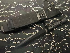 Free shipping. Taiwan Military M10 type knife with sheath for T91
