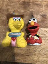 Sesame Street Finger Puppet Set Big Bird And Elmo