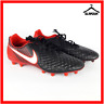 Nike Magista Onda II FG Firm Ground Football Boots UK 10 EUR 45 Shoes Black/Red