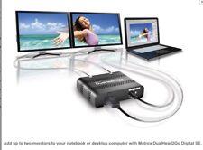 Matrox DualHead2Go Digital SE External Multi‑Display Adapter ‑ D2G‑DP2D‑IF