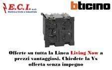 Bticino Living Now K4410 Dimmer a pulsante per lampade con ballast uscita 0-10V.