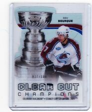 10-11 2010-11 UPPER DECK RAY BOURQUE CLEAR CUT CHAMPIONS /100 CCC-RB AVALANCHE