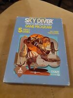 SKY DIVER for ATARI 2600 ▪︎ COMPLETE  IN THE BOX ▪︎FREE SHIPPING ▪︎