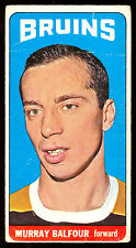 1964 65 TOPPS TALL BOYS HOCKEY #90 MURRAY BALFOUR VG-EX BOSTON BRUINS CARD
