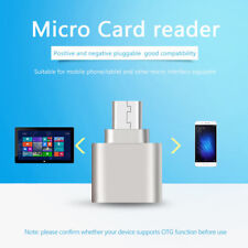 Znic Alloy Micro USB OTG TF Micro SD Card Reader Adapter For Android Phones