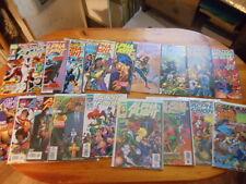 Lot 19 comics Alpha Flight v2 #1-18 + Annual Marvel Inhumans 1st app Big Hero 6