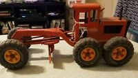 Vintage 1970's Orange Tonka Grader