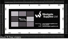 Westgate Supplies Tampon Perforation Calibre/ Guide/ Mesure - Double Face