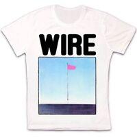 Wire Pink Flag Punk Rock Retro Vintage Hipster Unisex T Shirt 1752