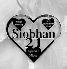 21st 18TH BIRTHDAY GIFT, SPECIAL FRIEND PERSONALISED , SPECIAL NEICE DAUGHTER