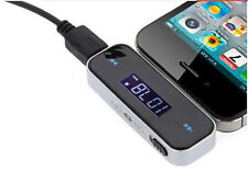 LCD Auto FM Transmitter KFZ Radio MP3/ 4 Player iPhone Samsung Universal 3,5mm
