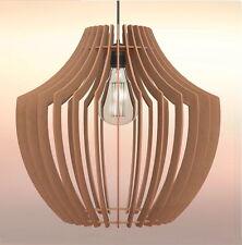 Lampadario legno in vendita ebay for Lampadario legno moderno
