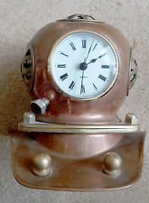 model diving helmet clock