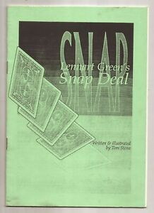 LENNART GREEN'S SNAP DEAL - Signed