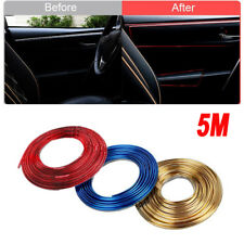5M Car Styling Interior Exterior Decoration Line Moulding Trim Strip Flexible