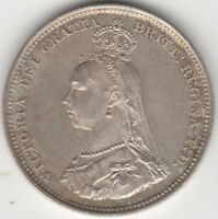 1887 Victoria One Shilling***Collectors***High Grade***
