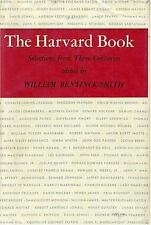 The Harvard Book - William Bentinck-Smith 1982 Harvard University Press