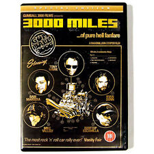 Gumball 3000 DVD Special Edition 3000 Miles Car Race Tony Hawk Jackass